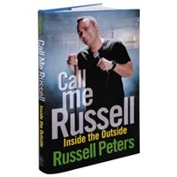 Russell Peters Call Me Russell: Inside the Outside Book image